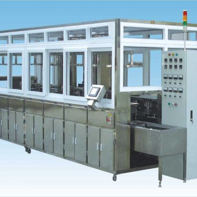 Ultrasonic Cleaning Line 01